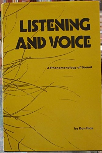 9780821402016: Listening and Voice: A phenomenology of sound