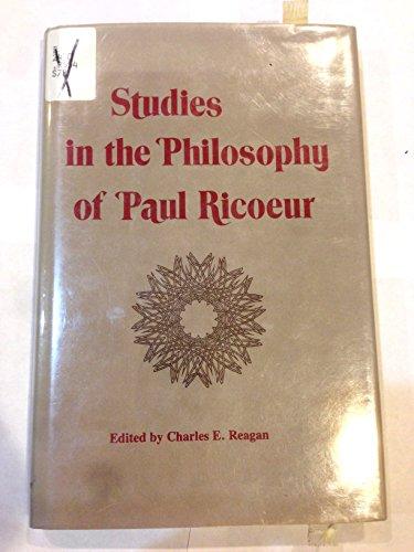 Studies in the Philosophy of Paul Ricoeur.: REAGAN, Charles E. (ed.):