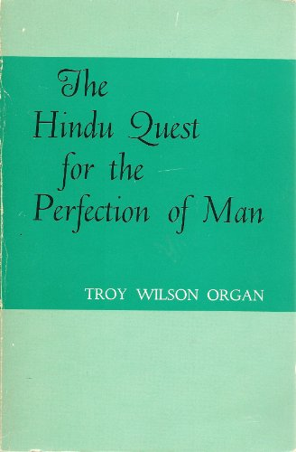 9780821405758: The Hindu Quest for the Perfection of Man