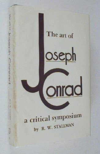 9780821405833: The Art of Joseph Conrad: A critical symposium