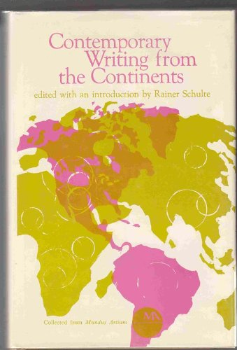 9780821406564: Contemporary writing from the continents