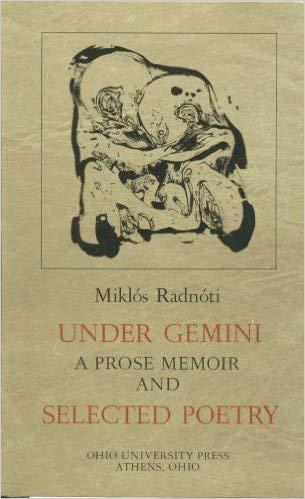 9780821407646: Under Gemini: A Prose Memoir and Selected Poetry