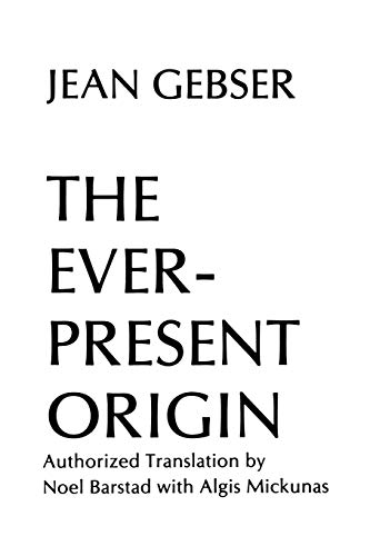 9780821407691: Ever-Present Origin: The Foundations and Manifestations of the Aperspectival World Part 1 (Englis Series, No 1)
