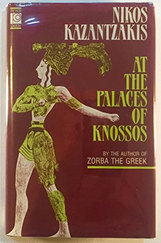 9780821408797: At the Palaces of Knossos: A Novel (English and Greek Edition)