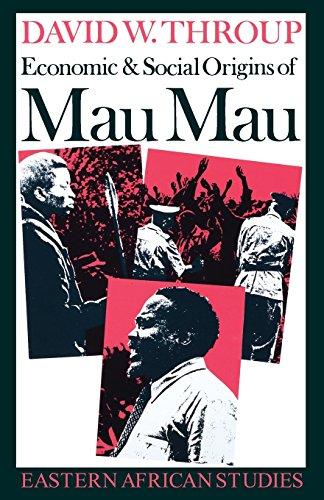 9780821408841: Economic & Social Origins Mau Mau: Eastern African Studies