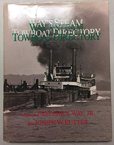 9780821409695: Way's Steam Towboat Directory