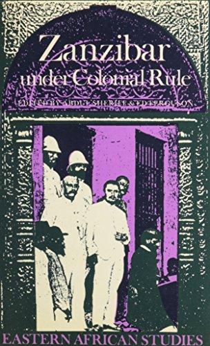 9780821409954: Zanzibar under Colonial Rule (Eastern African Studies)