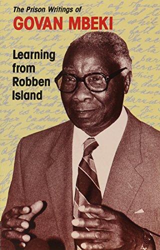 9780821410073: Learning From Robben Island: The Prison Writings of Govan Mbeki (UWC Mayibuye History Series No. 1)