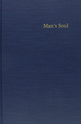 9780821410615: Man's Soul: An Introductory Essay in Philosophical Psychology