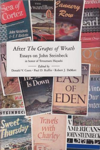 after the grapes of wrath essays on john steinbeck Four powerful women in grapes of wrath by john steinbeck - one of the most   the other, right after that, was the most widespread and deadliest total war, the.