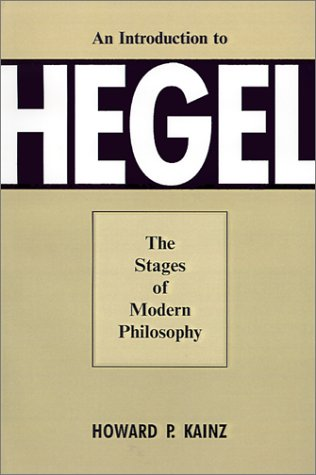 9780821411421: Introduction To Hegel: Stages Of Modern Philosophy