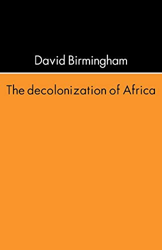 9780821411537: The Decolonization of Africa