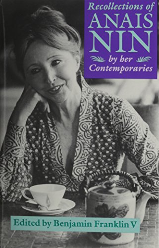 9780821411643: Recollections Of Anais Nin: By Her Contemporaries
