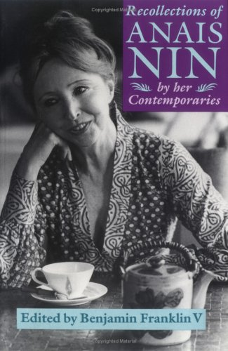 9780821411650: Recollections of Anais Nin: By Her Contemporaries