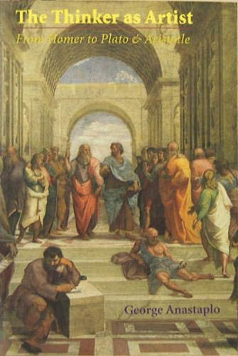 9780821411841: The Thinker As Artist: From Homer To Plato and Aristotle