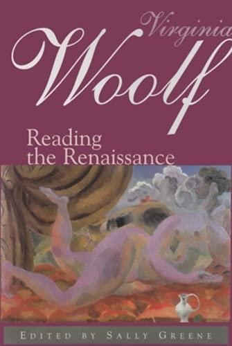 9780821412695: Virginia Woolf: Reading the Renaissance