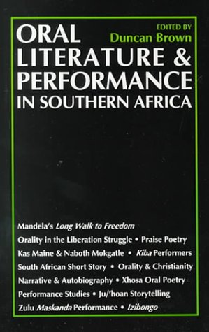9780821413081: Oral Literature and Performance in Southern Africa
