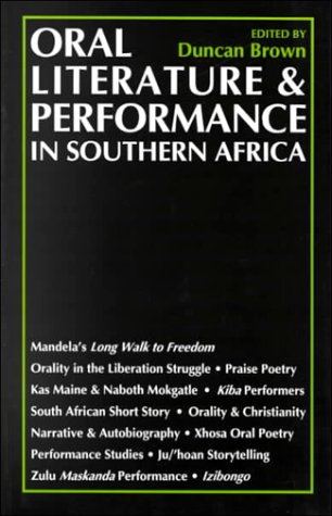 9780821413098: Oral Literature and Performance in Southern Africa