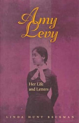 9780821413296: Amy Levy: Her Life and Letters