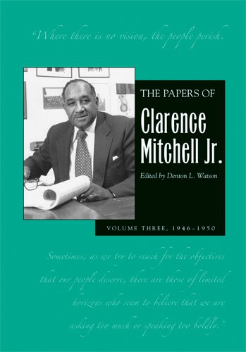 9780821416624: The Papers of Clarence Mitchell V 3: 1946-1954 (Papers of Clarence Mitchell Jr.)