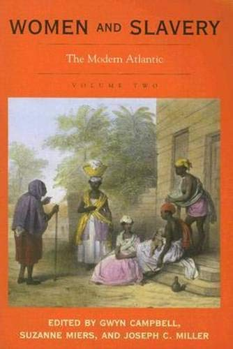 9780821417263: Women and Slavery, Vol. 2: The Modern Atlantic