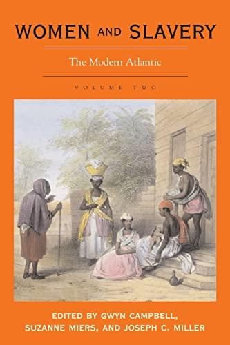 9780821417263: Women and Slavery, Volume Two: The Modern Atlantic: v. 2