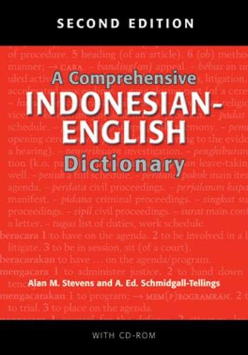 A Comprehensive Indonesian-English Dictionary: Second Edition