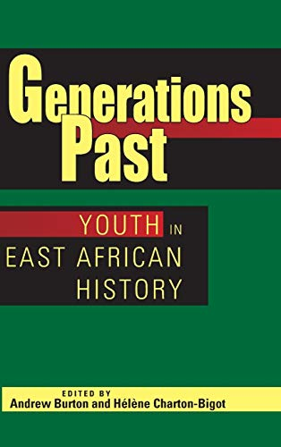 9780821419236: Generations Past: Youth in East African History