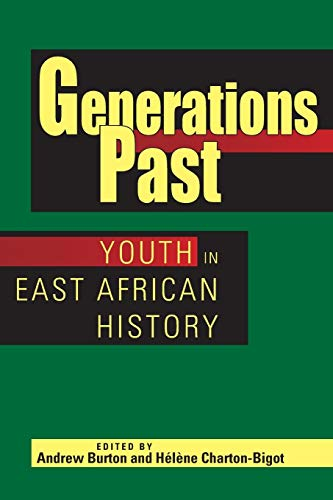 9780821419243: Generations Past: Youth in East African History
