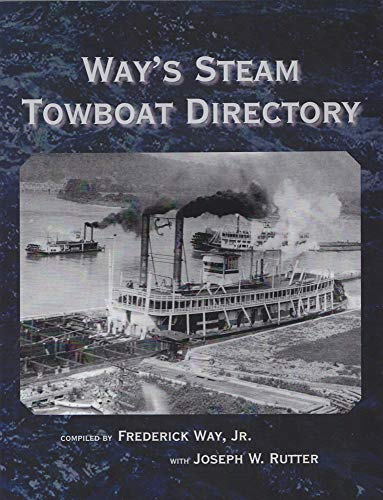 9780821420751: Way's Steam Towboat Directory