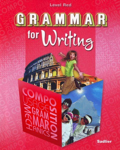 9780821502167: Grammar for Writing Level Red