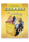 9780821502426: Grammar for Writing Test Booklet (Level Gold) Grade 12