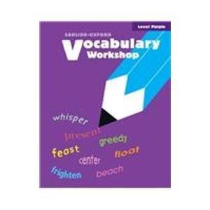 9780821503027: Vocabulary Workshop: Level Purple
