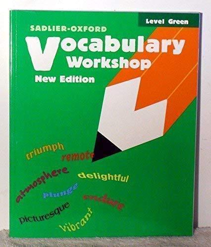 9780821503638: Vocabulary Workshop: Level Green