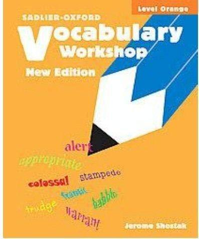 9780821503645: Vocabulary Workshop, Level Orange