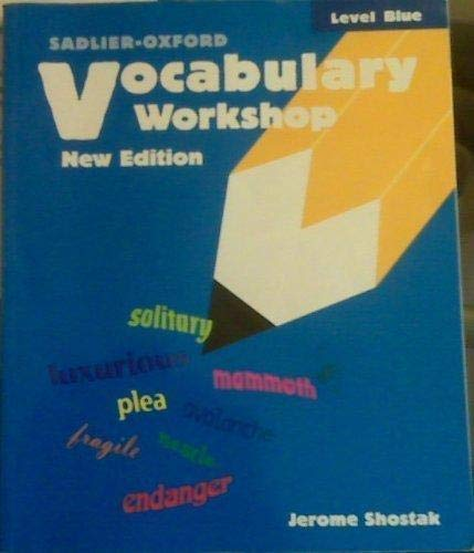 9780821503652: Vocabulary Workshop, Level Blue