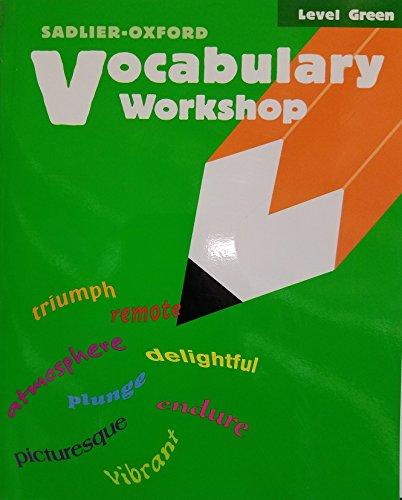 9780821504031: Vocabulary Workshop: Level Green