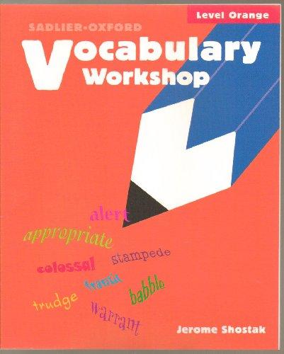 9780821504048: Vocabulary Workshop, Level Orange