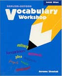 9780821504055: Vocabulary Workshop, Level Blue