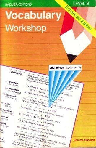 9780821506073: Vocabulary Workshop: Level B