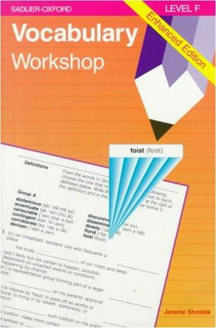 9780821506110: Vocabulary Workshop, Level F, Enhanced Edition