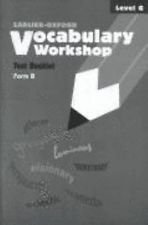 9780821506530: Vocabulary Workshop: Level H, Answer Key to Supplementary Testing Program: Cycles 1 and 2, Enhanced Edition