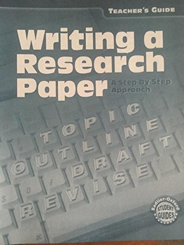 Writing a Research Paper (garde 6 to: Jerome Shostak, William