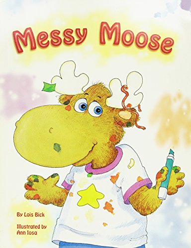 Messy Moose (Little Books & Big Bks): Bick, Lois
