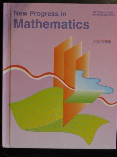 9780821517086: New Progress in Mathematics