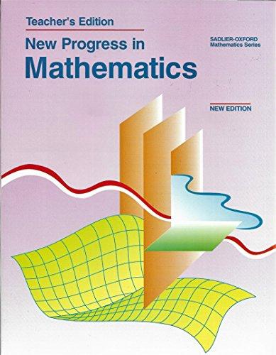 9780821517185: New Progress in Mathematics
