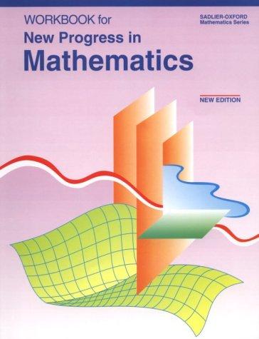 9780821517284: New Progress in Mathematics: An Innovative Approach Including Two Options : Pre-Algegra, Algebra