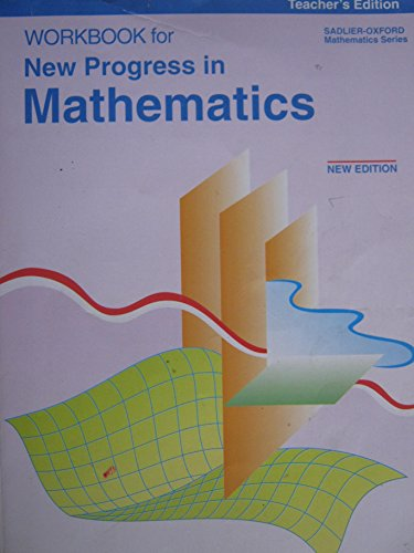Workbook for New Progress in Mathematics, Teacher's Edition (0821517589) by Rose A. McDonnell; Catherine D. Le Tourneau; Anne V. Burrows