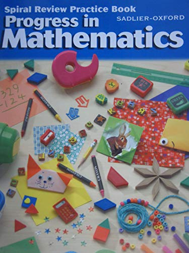 9780821525722: Spiral Review Practice Book for Progress In Mathematics, Grade 2