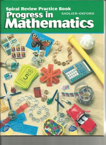 9780821525739: Progress In Mathematics, Spiral Review Practice Book